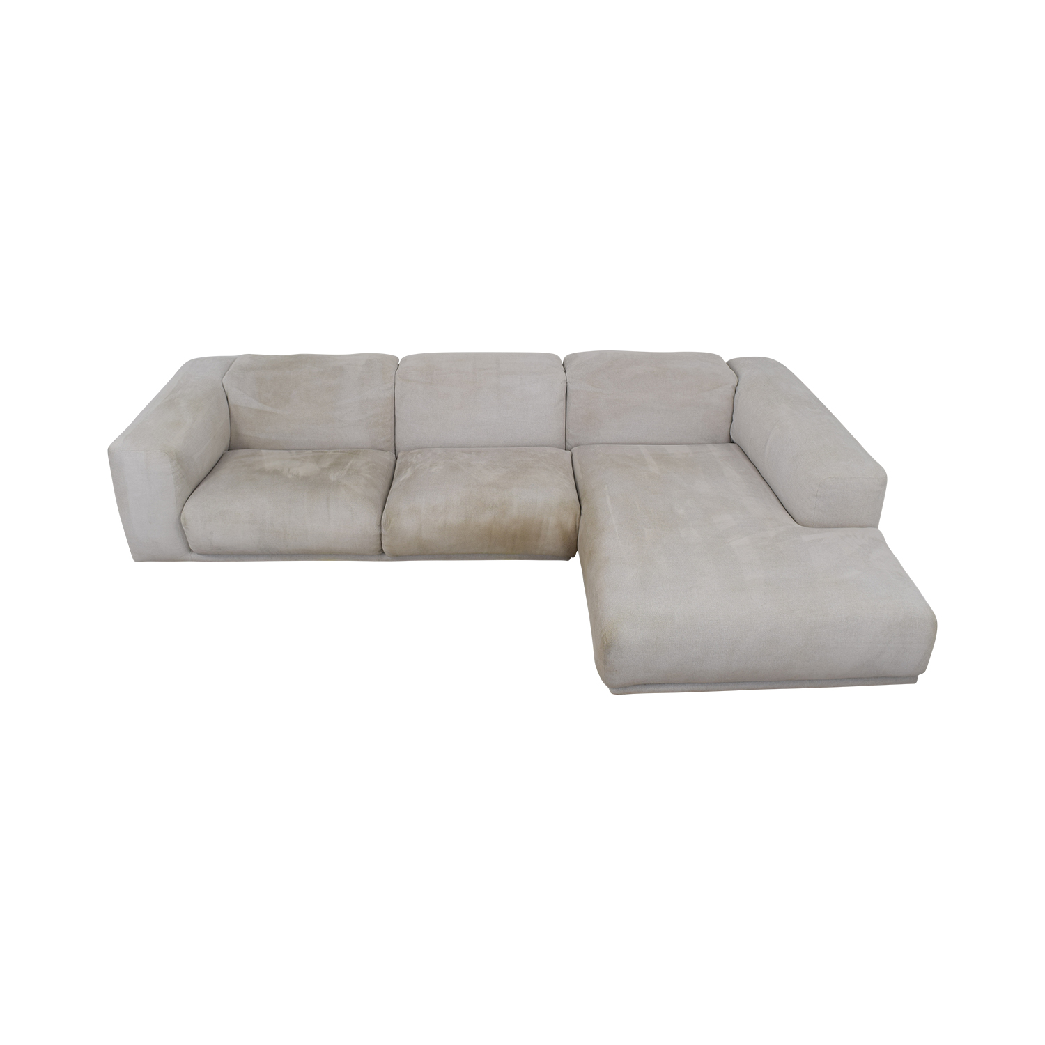 buy Design Within Reach Kelston Sectional with Chaise Design Within Reach