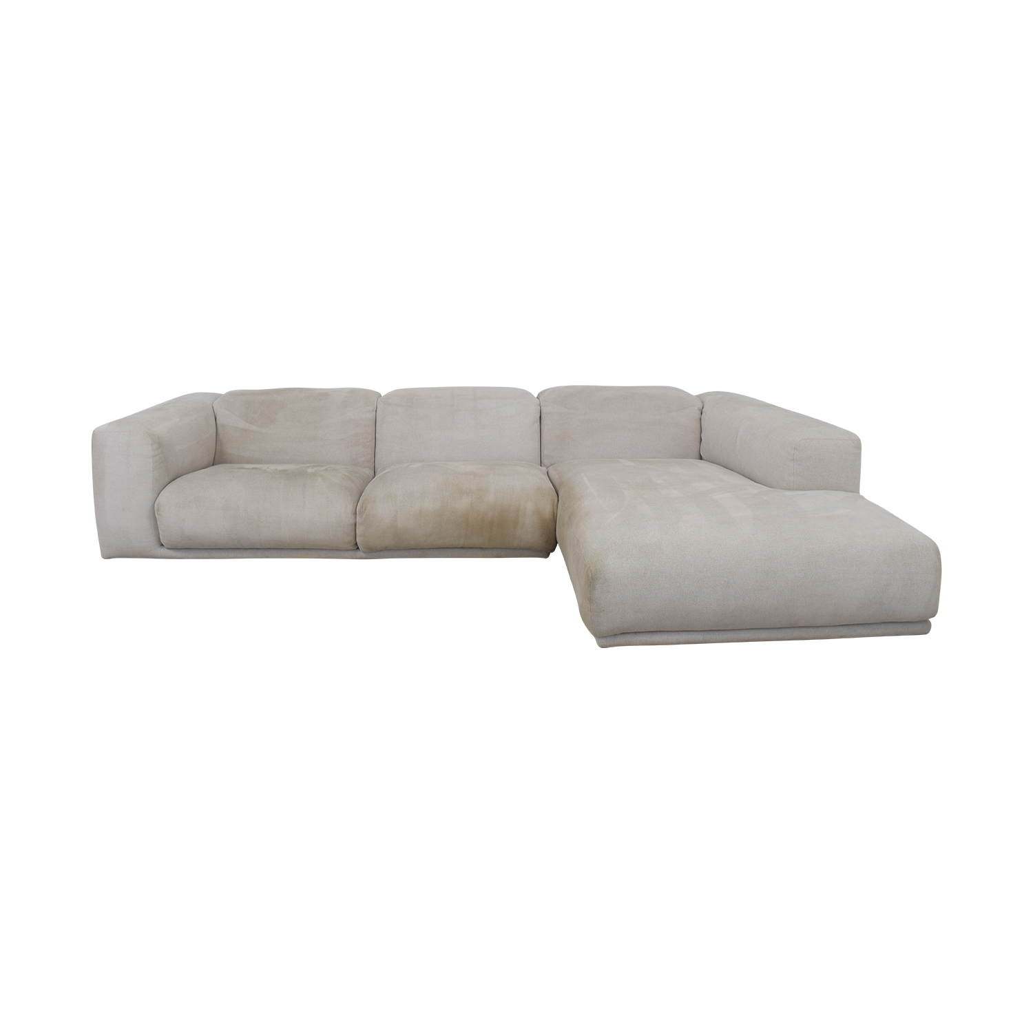 Design Within Reach Design Within Reach Kelston Sectional with Chaise on sale
