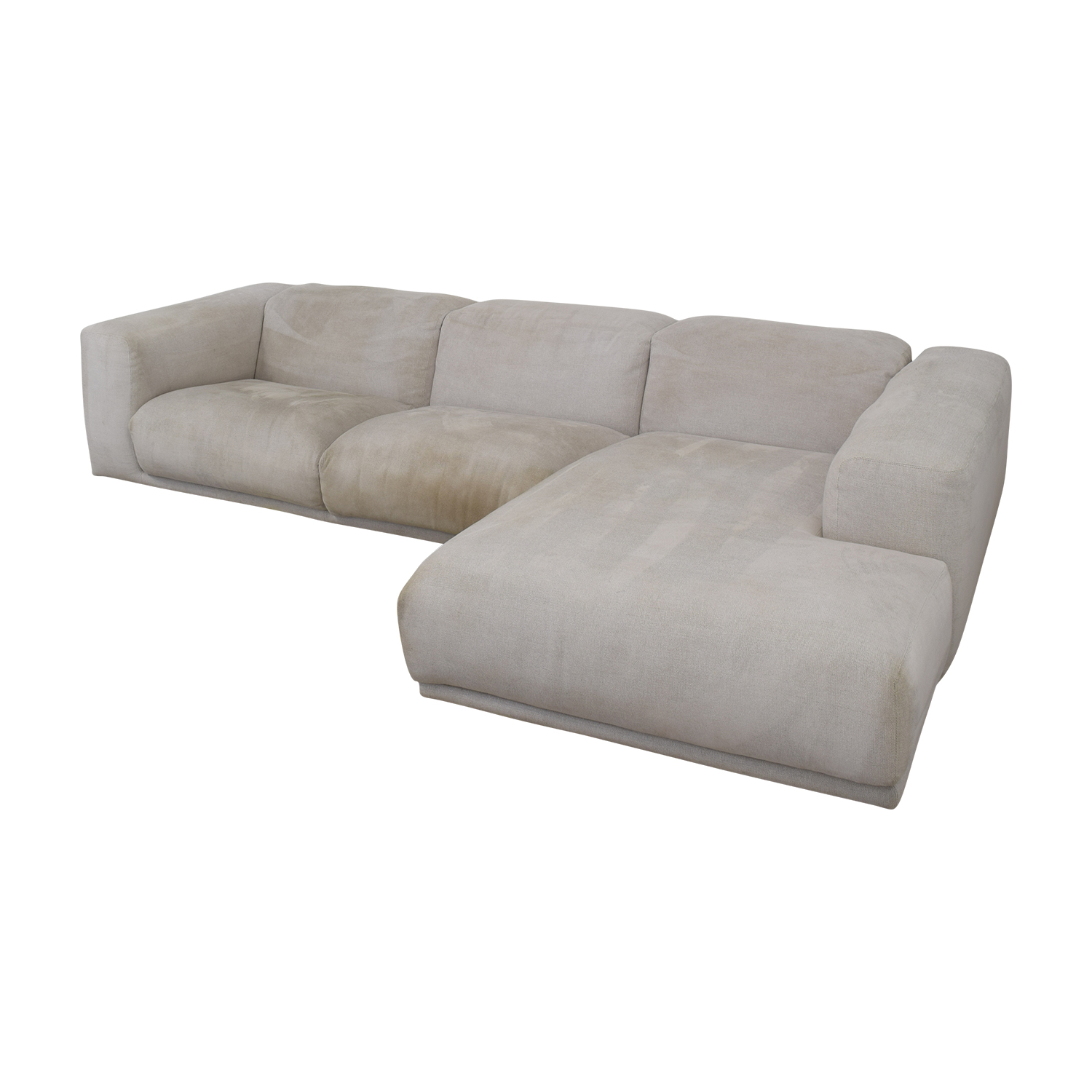 Design Within Reach Design Within Reach Kelston Sectional with Chaise nyc