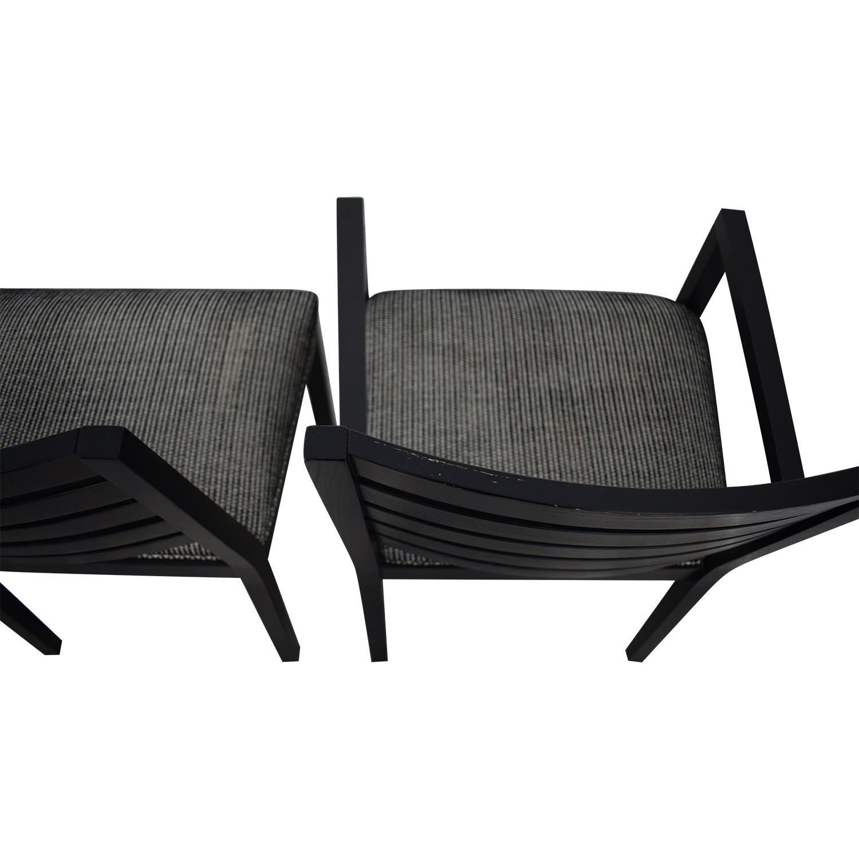 Ethan Allen Ethan Allen Horizontal Slat Dining Chairs coupon