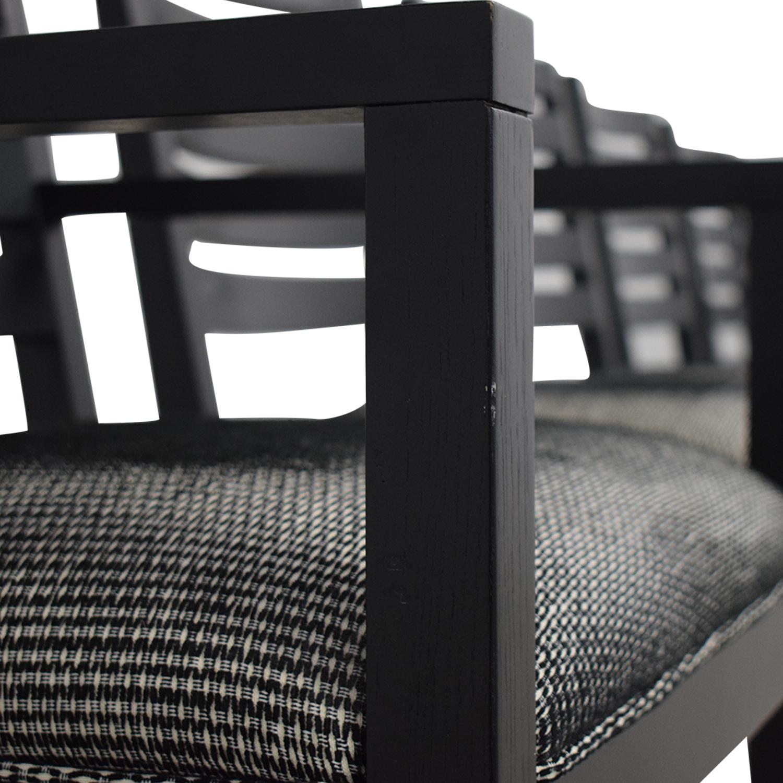 Ethan Allen Ethan Allen Horizontal Slat Dining Chairs on sale