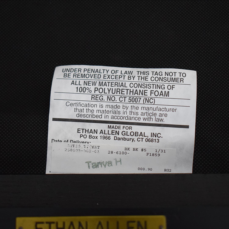 Ethan Allen Ethan Allen Horizontal Slat Dining Chairs dimensions