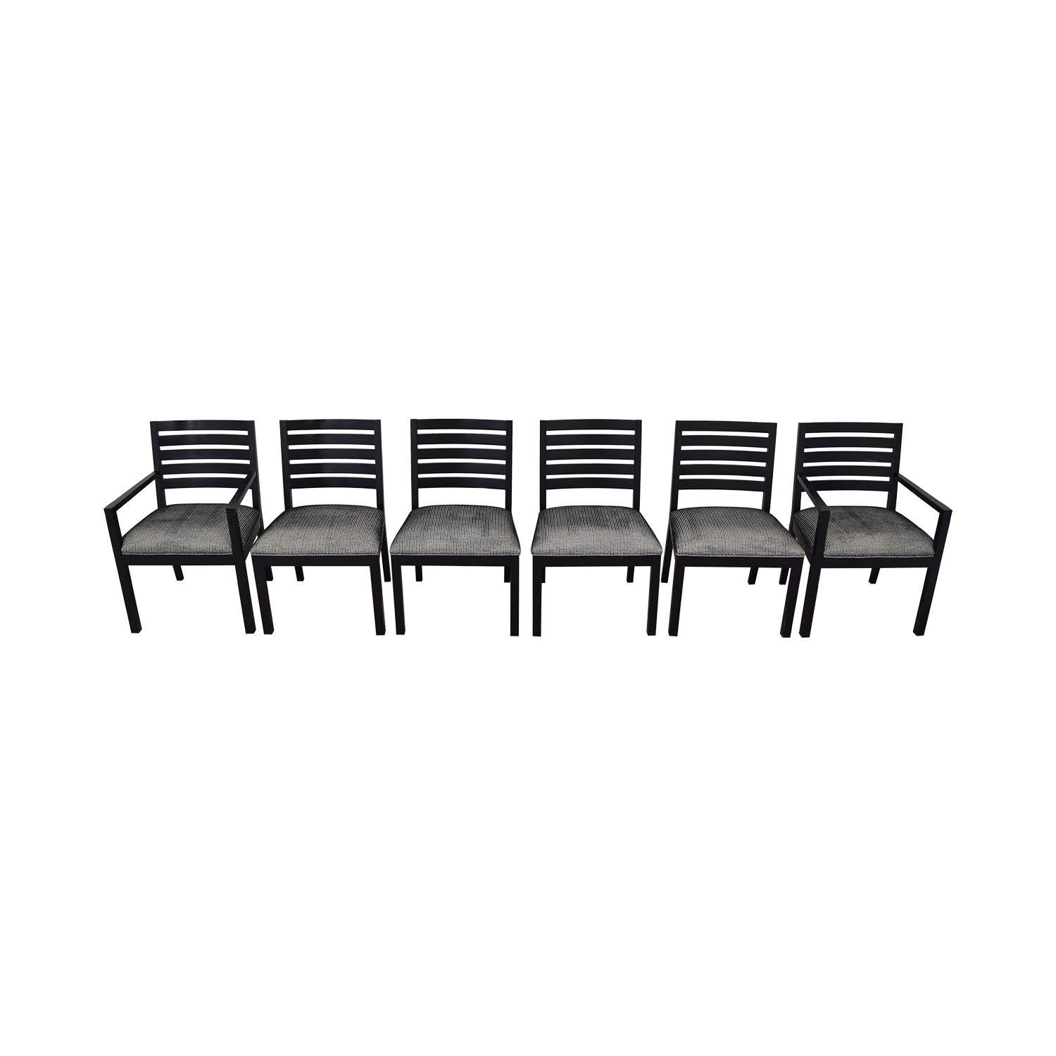 Ethan Allen Ethan Allen Horizontal Slat Dining Chairs nyc