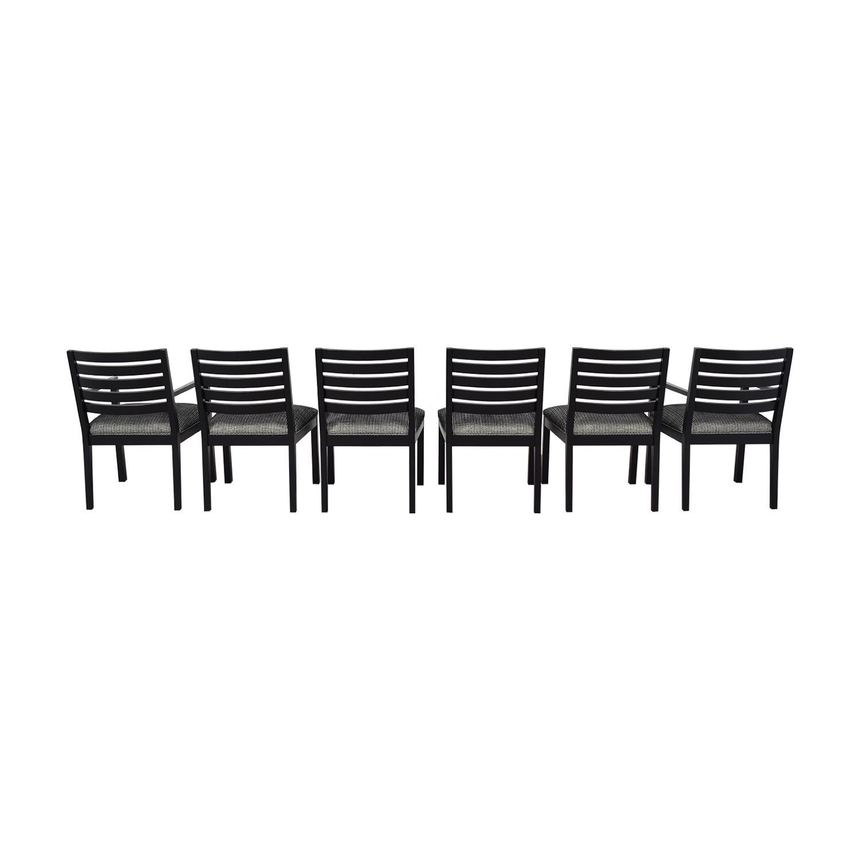 shop Ethan Allen Horizontal Slat Dining Chairs Ethan Allen