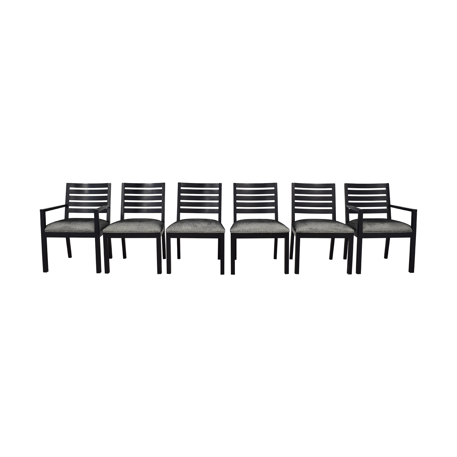 buy Ethan Allen Horizontal Slat Dining Chairs Ethan Allen Dining Chairs