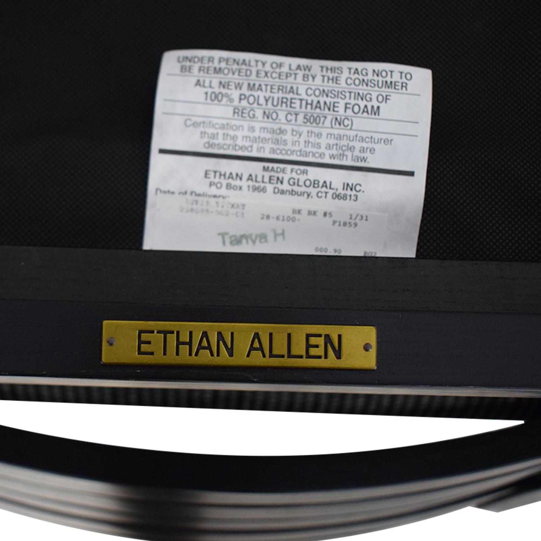 buy Ethan Allen Horizontal Slat Dining Chairs Ethan Allen