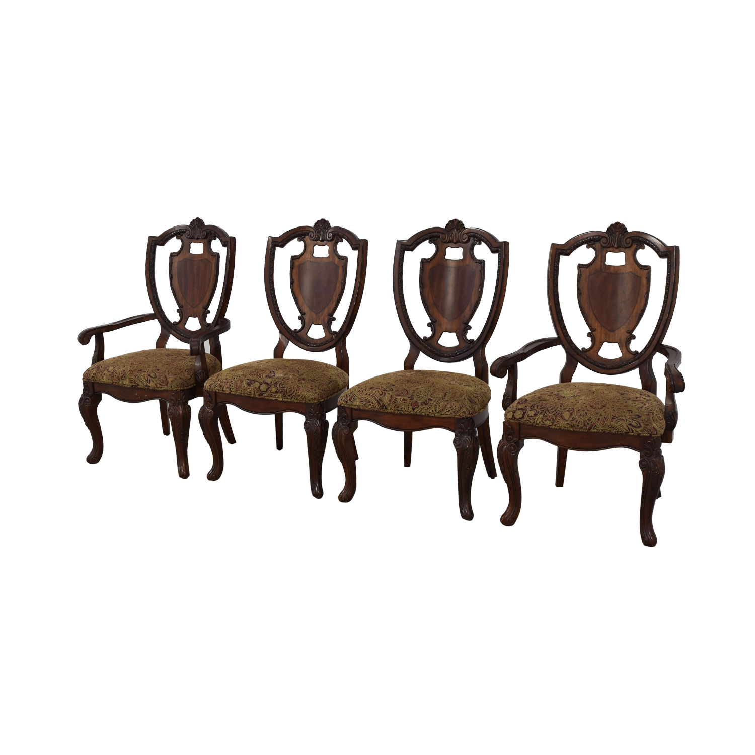 Macy's Macy's Upholstered Seat Dining Chairs used