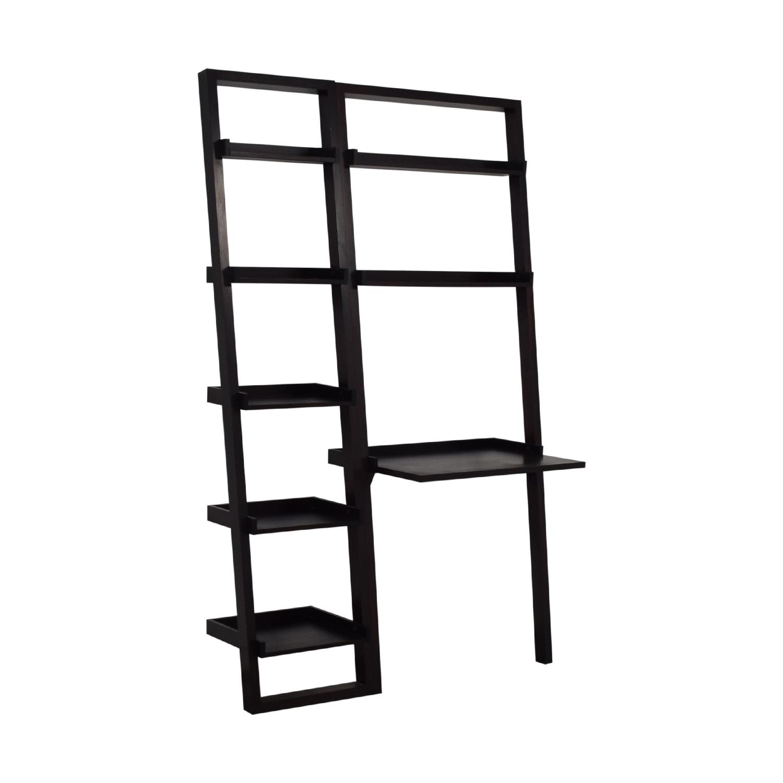 Crate & Barrel Crate and Barrel Ladder Shelf with Desk price