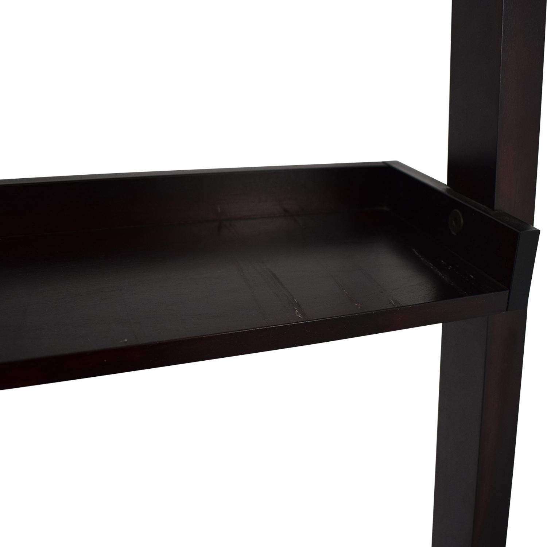 shop Crate and Barrel Ladder Shelf with Desk Crate & Barrel Tables
