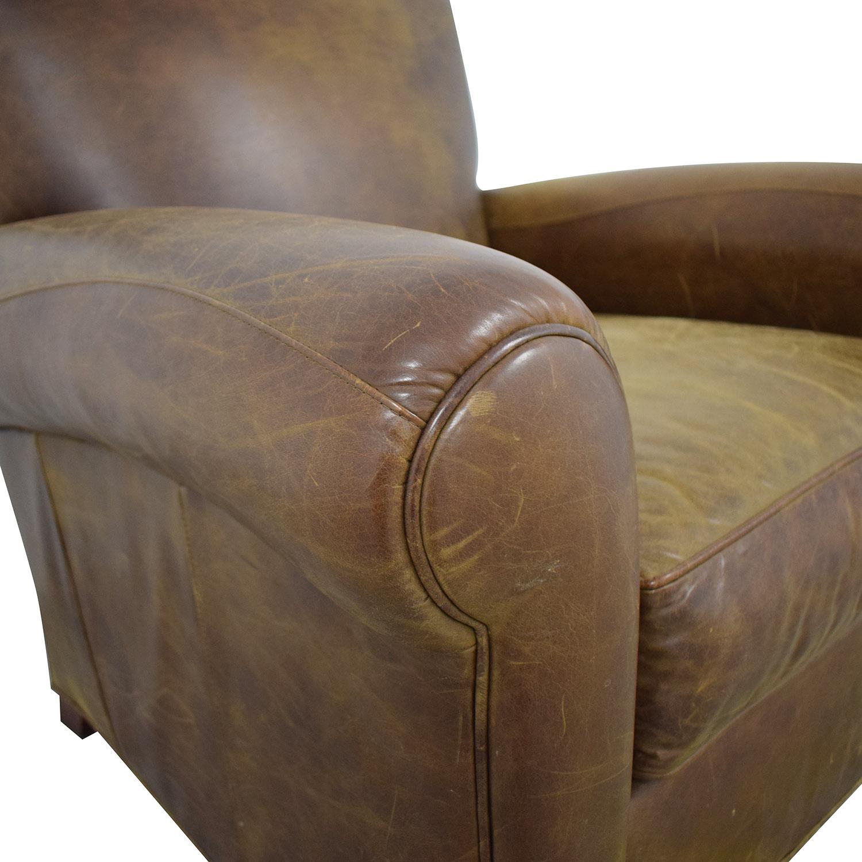 Zagaroli Classics Zagaroli Classics Leather Club Chair nj