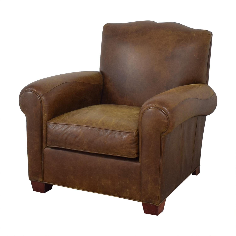 shop Zagaroli Classics Zagaroli Classics Leather Club Chair online