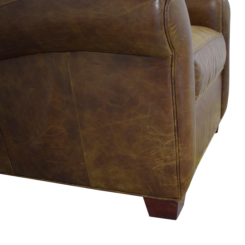 Zagaroli Classics Leather Club Chair Zagaroli Classics