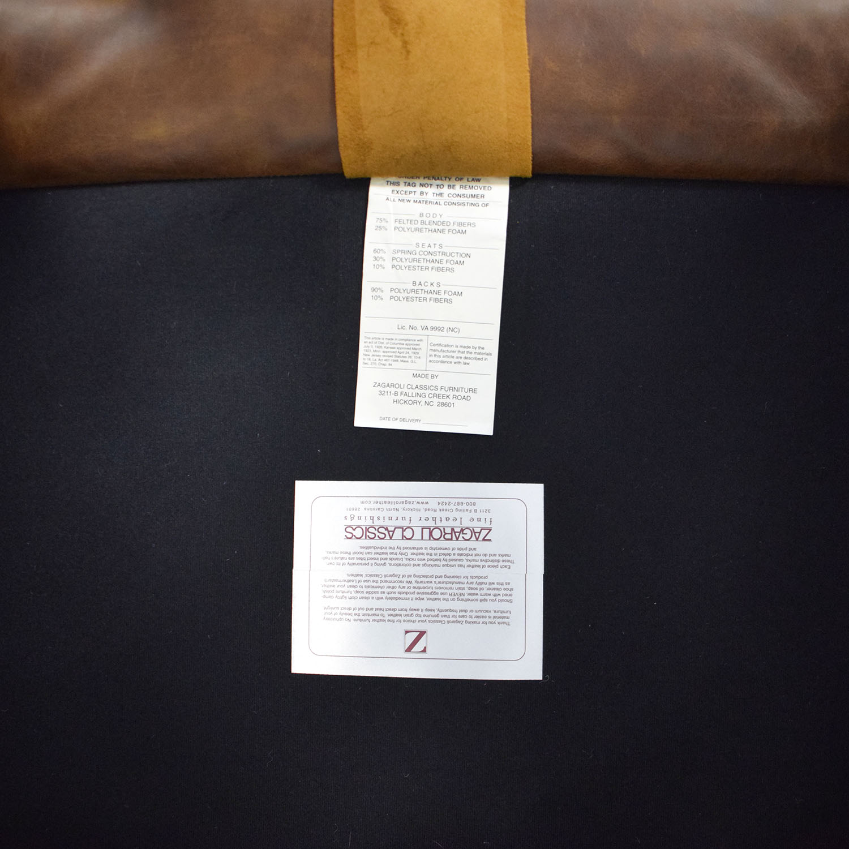 Zagaroli Classics Zagaroli Classics Leather Club Chair discount