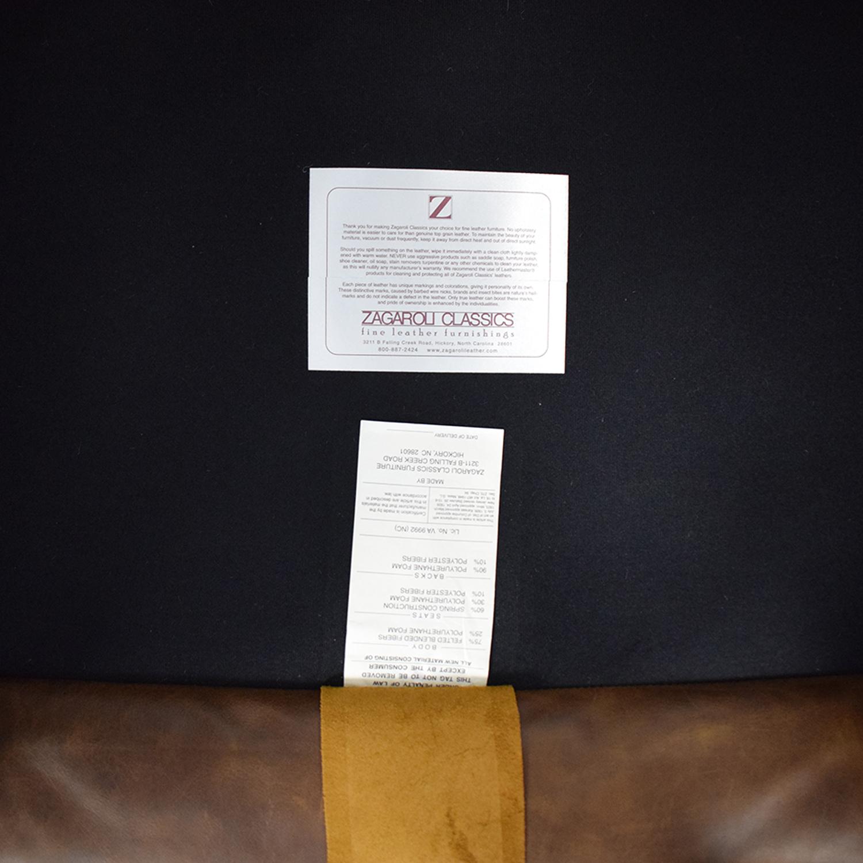 Zagaroli Classics Zagaroli Classics Leather Club Chair on sale