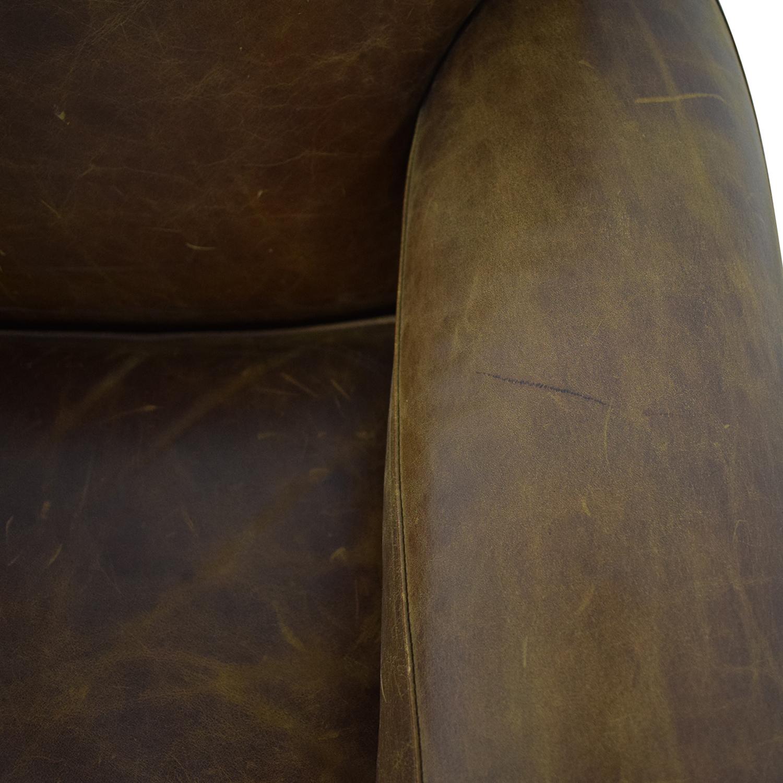 buy Zagaroli Classics Leather Club Chair Zagaroli Classics