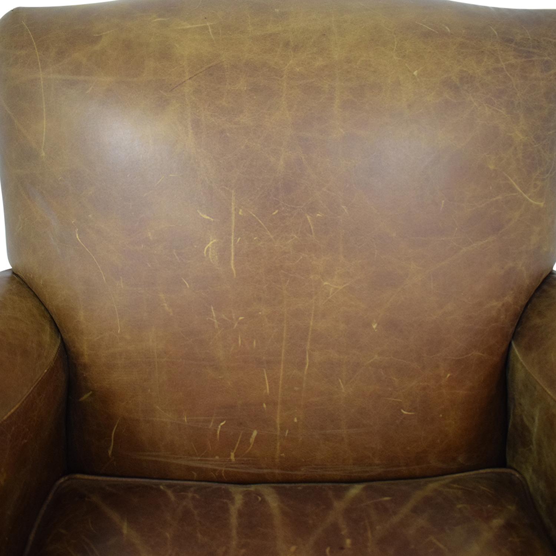 Zagaroli Classics Zagaroli Classics Leather Club Chair Accent Chairs