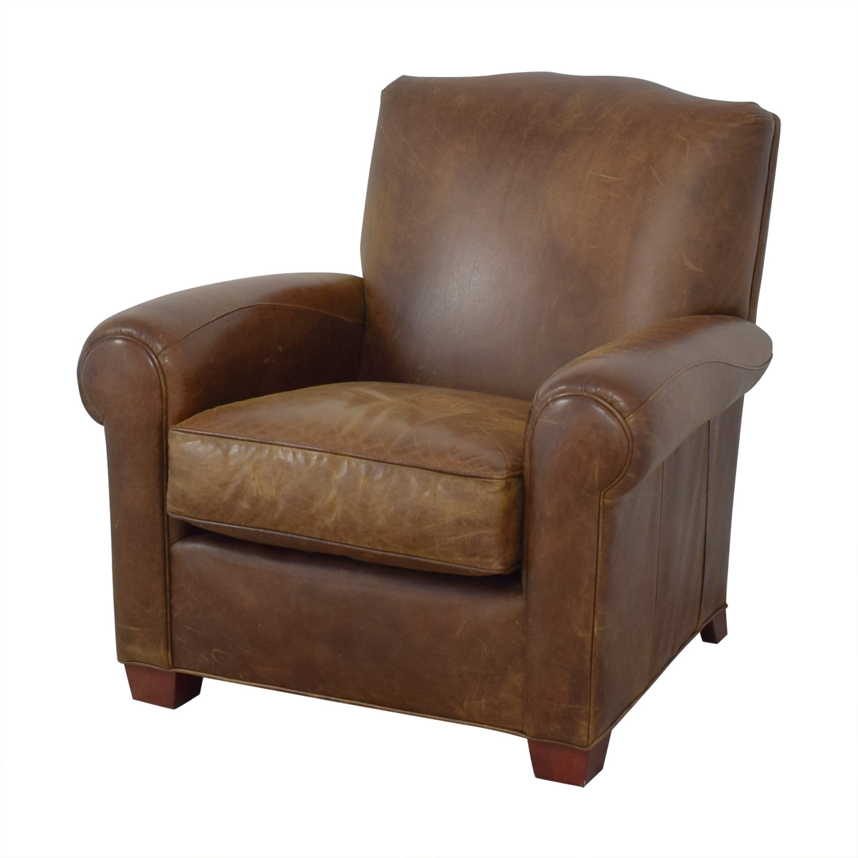 Zagaroli Classics Zagaroli Classics Leather Club Reclining Chair nj