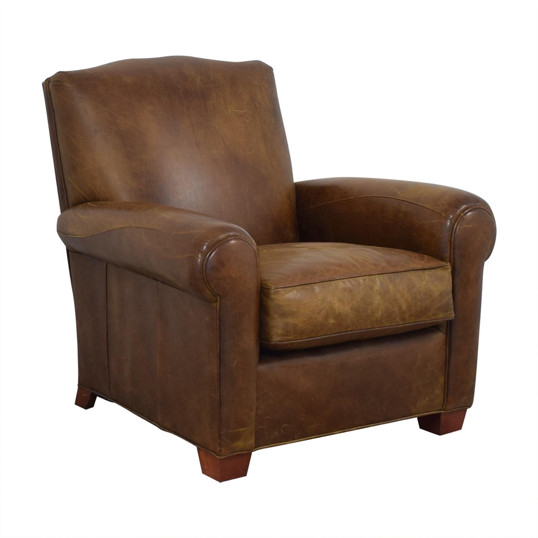 buy Zagaroli Classics Zagaroli Classics Leather Club Reclining Chair online