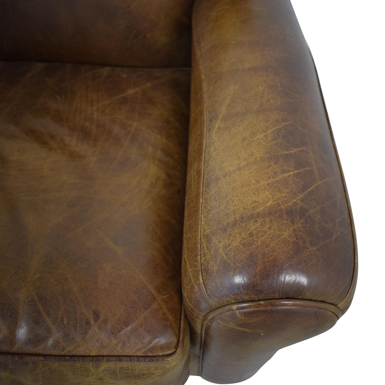 buy Zagaroli Classics Leather Club Reclining Chair Zagaroli Classics Recliners
