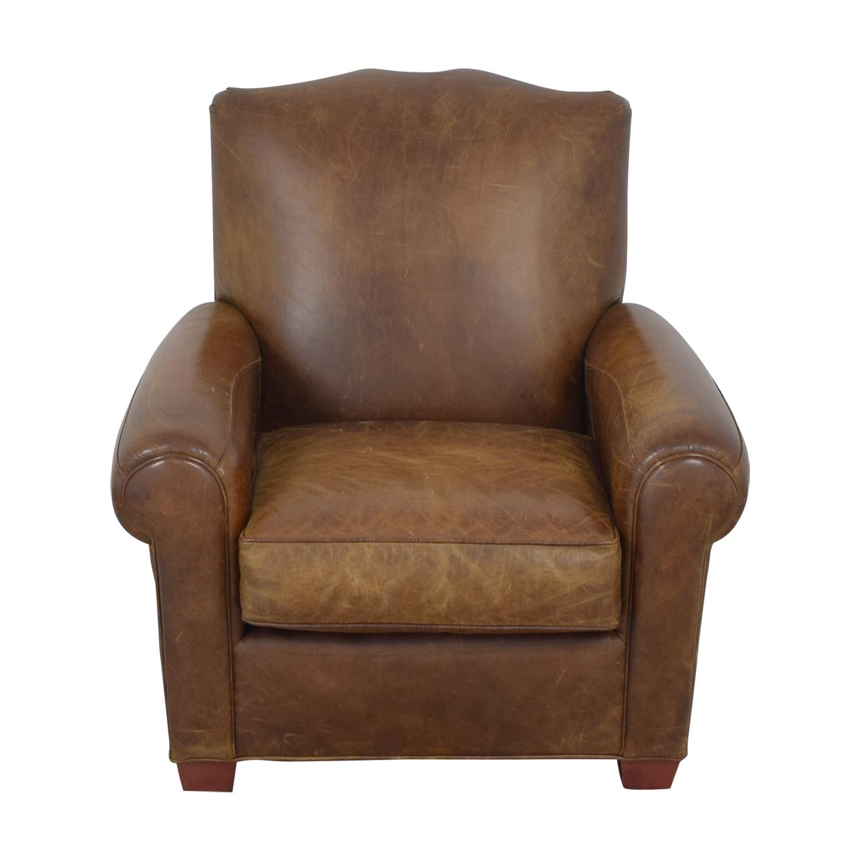 shop Zagaroli Classics Leather Club Reclining Chair Zagaroli Classics Recliners