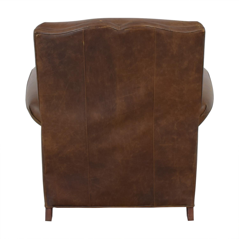 Zagaroli Classics Leather Club Reclining Chair / Recliners