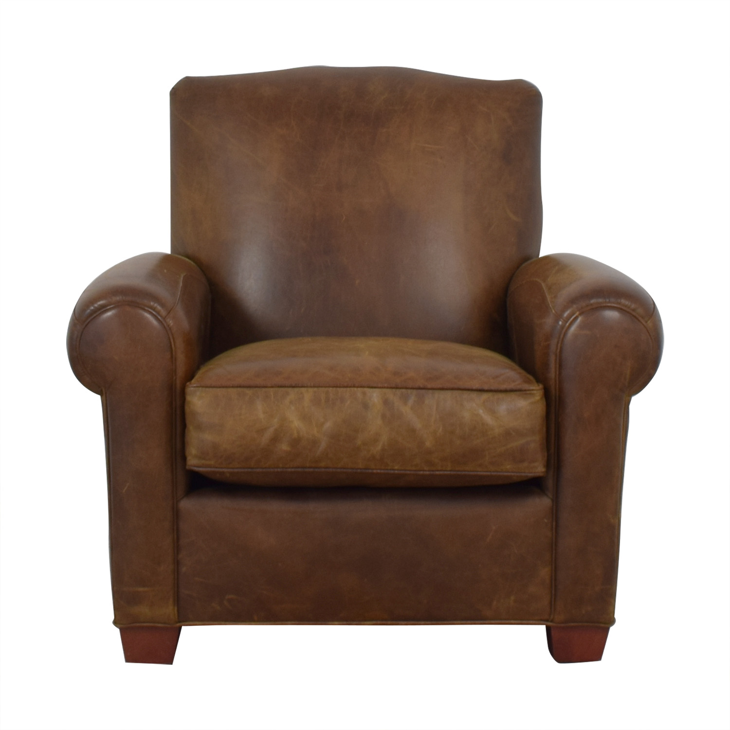 buy Zagaroli Classics Leather Club Reclining Chair Zagaroli Classics