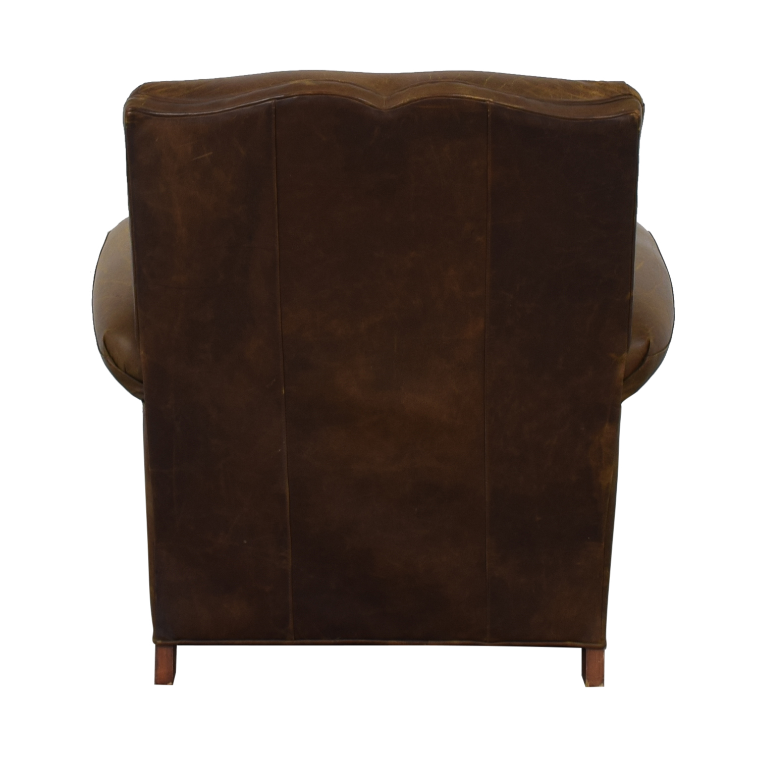 Zagaroli Classics Zagaroli Classics Leather Club Reclining Chair nj