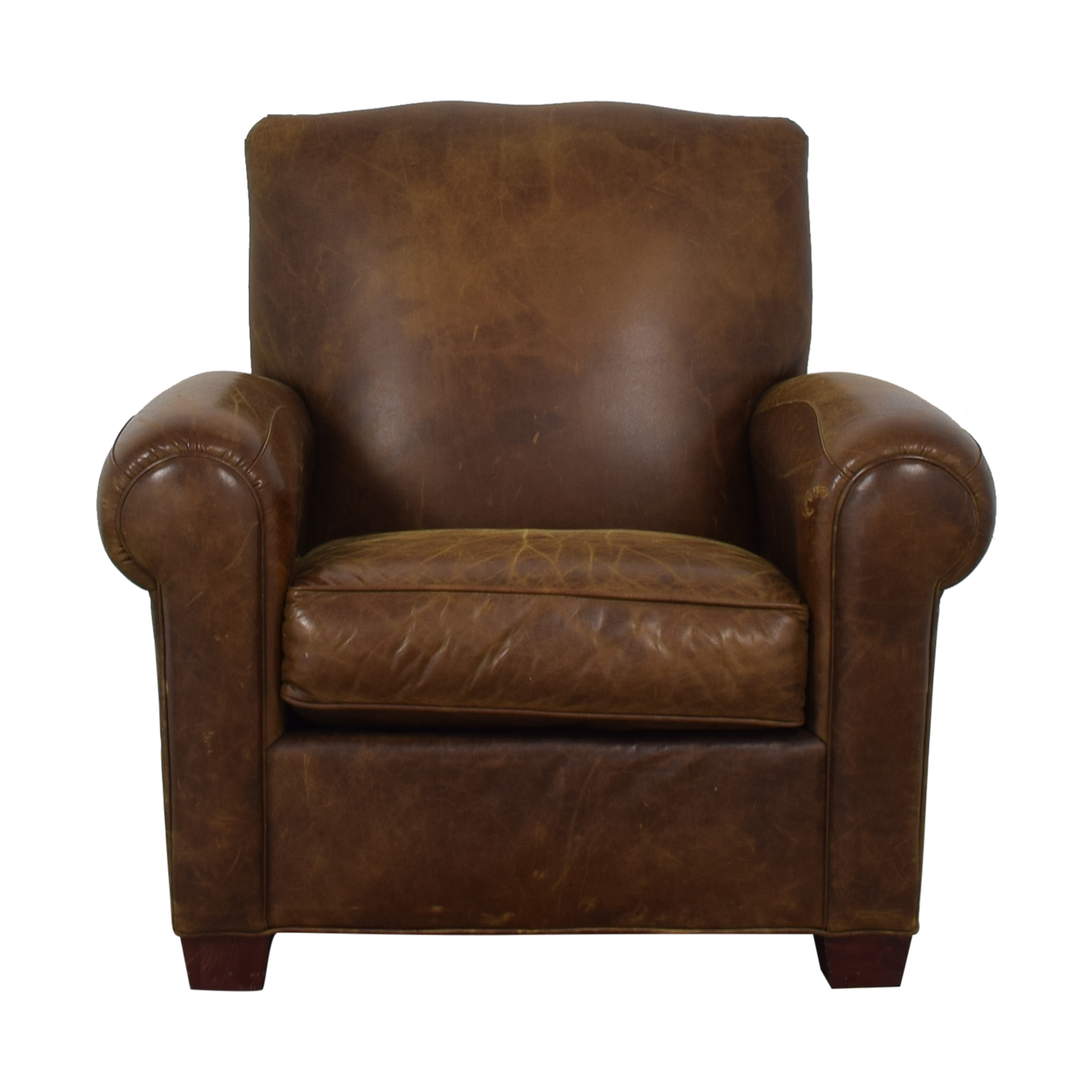 buy Zagaroli Classics Leather Club Reclining Chair Zagaroli Classics Recliners
