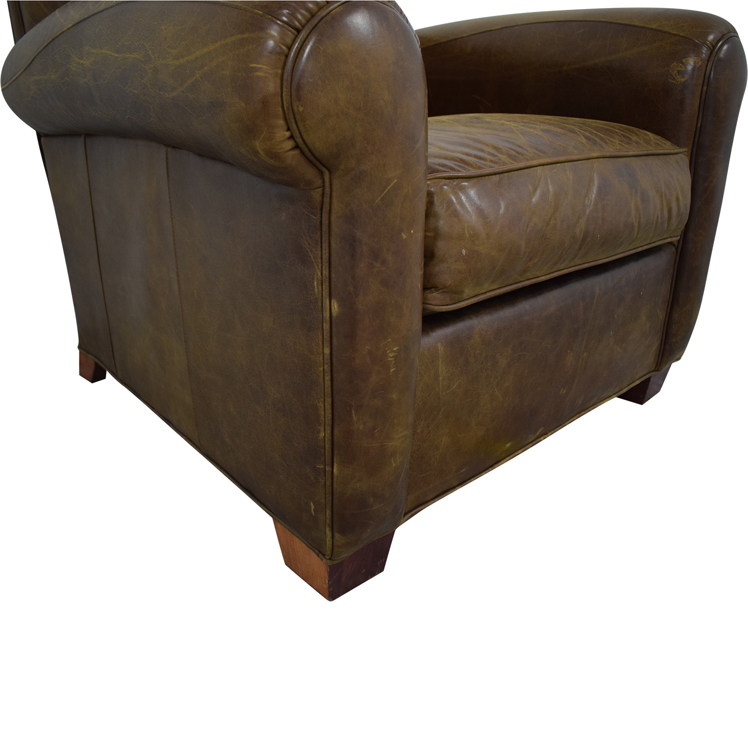 Zagaroli Classics Zagaroli Classics Leather Club Reclining Chair coupon