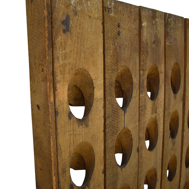 Sundance Decorative French Riddling Wine Rack price