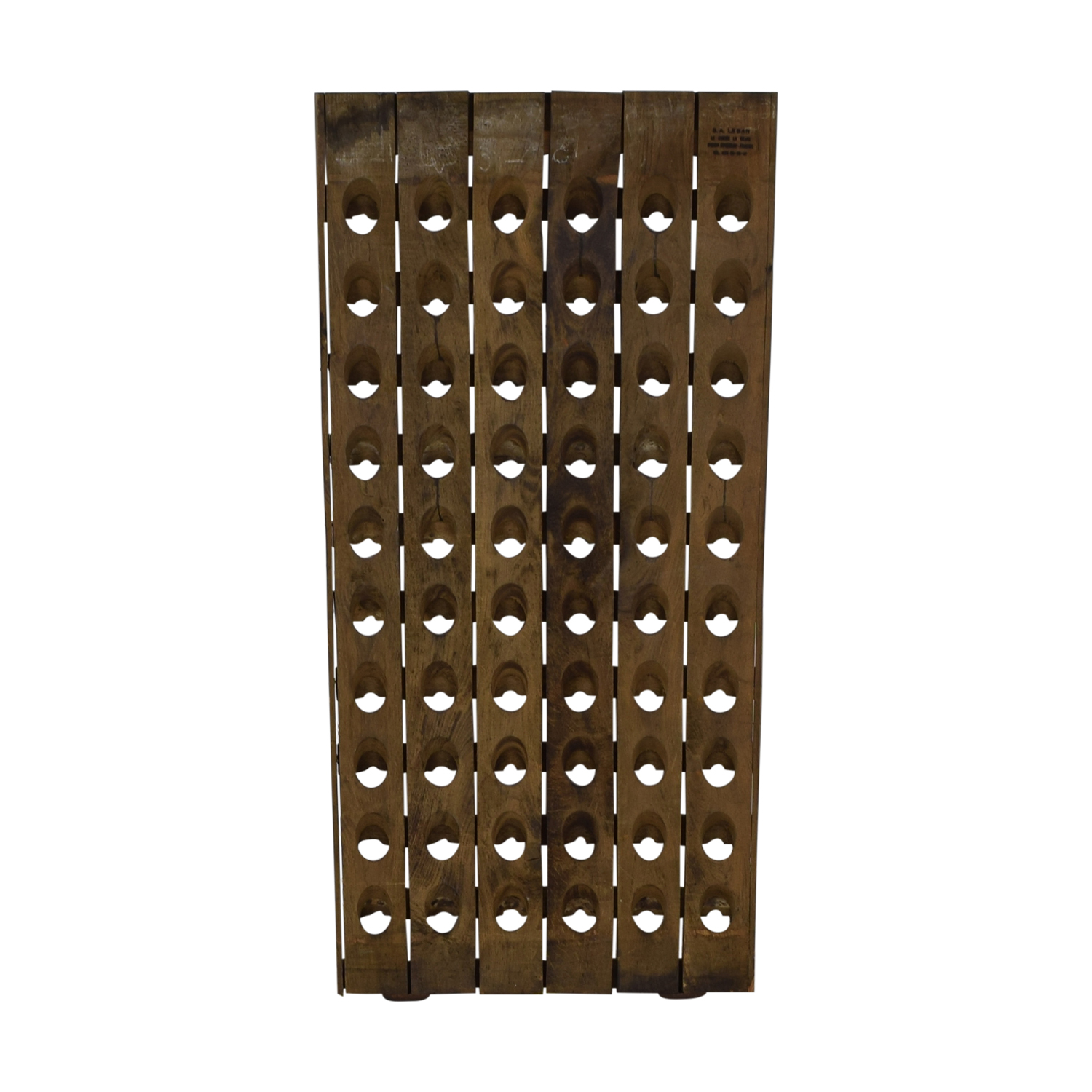Decorative Riddling Wine Rack Sundance