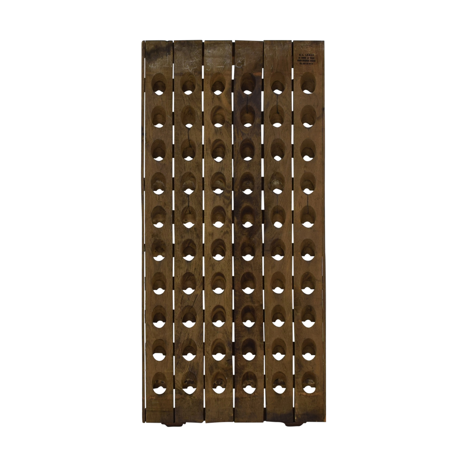 shop Decorative Riddling Wine Rack Sundance Decorative Accents