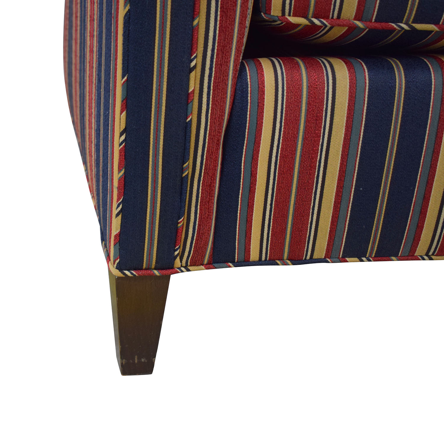 buy Striped Two Cushion Loveseat  Sofas