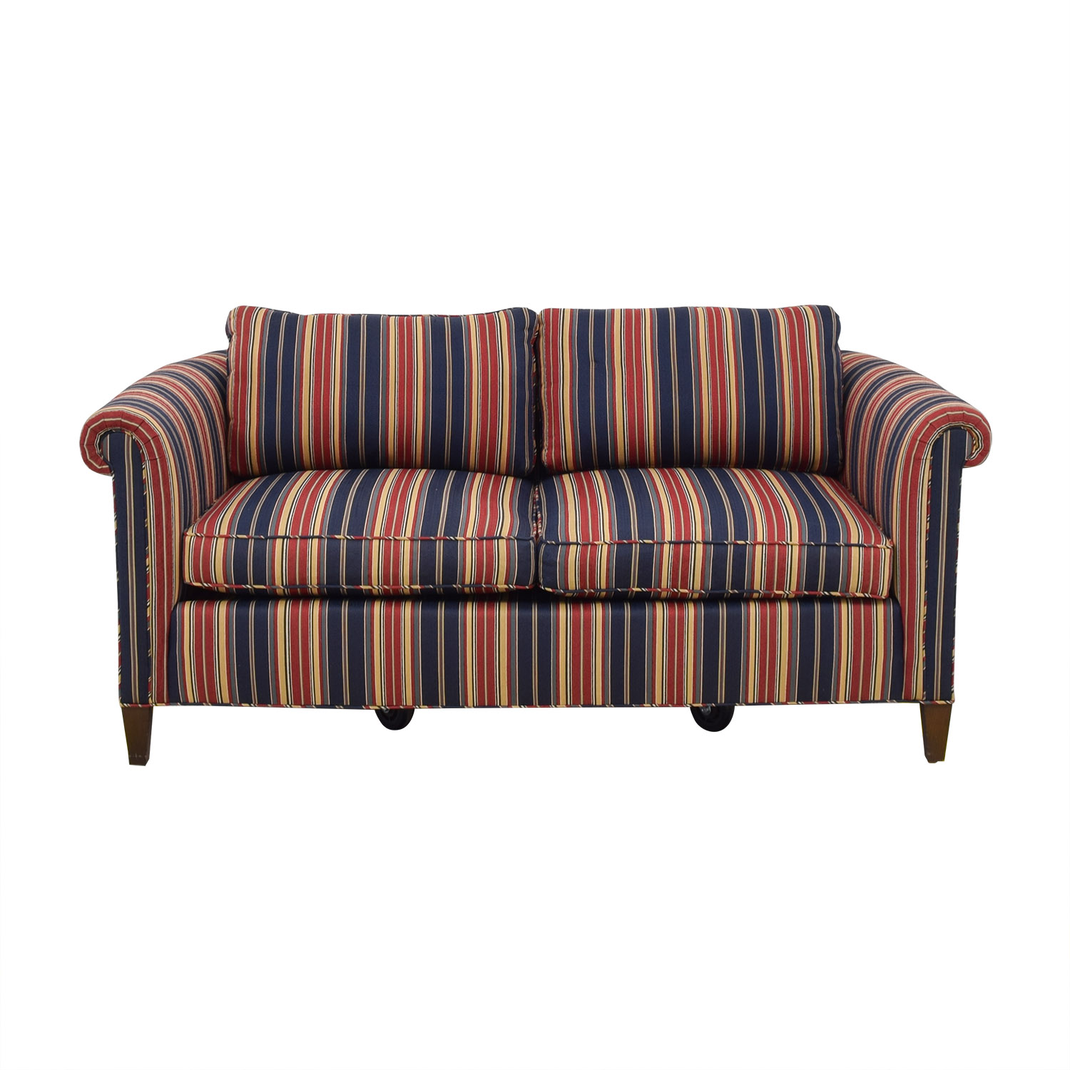 Striped Two Cushion Loveseat coupon