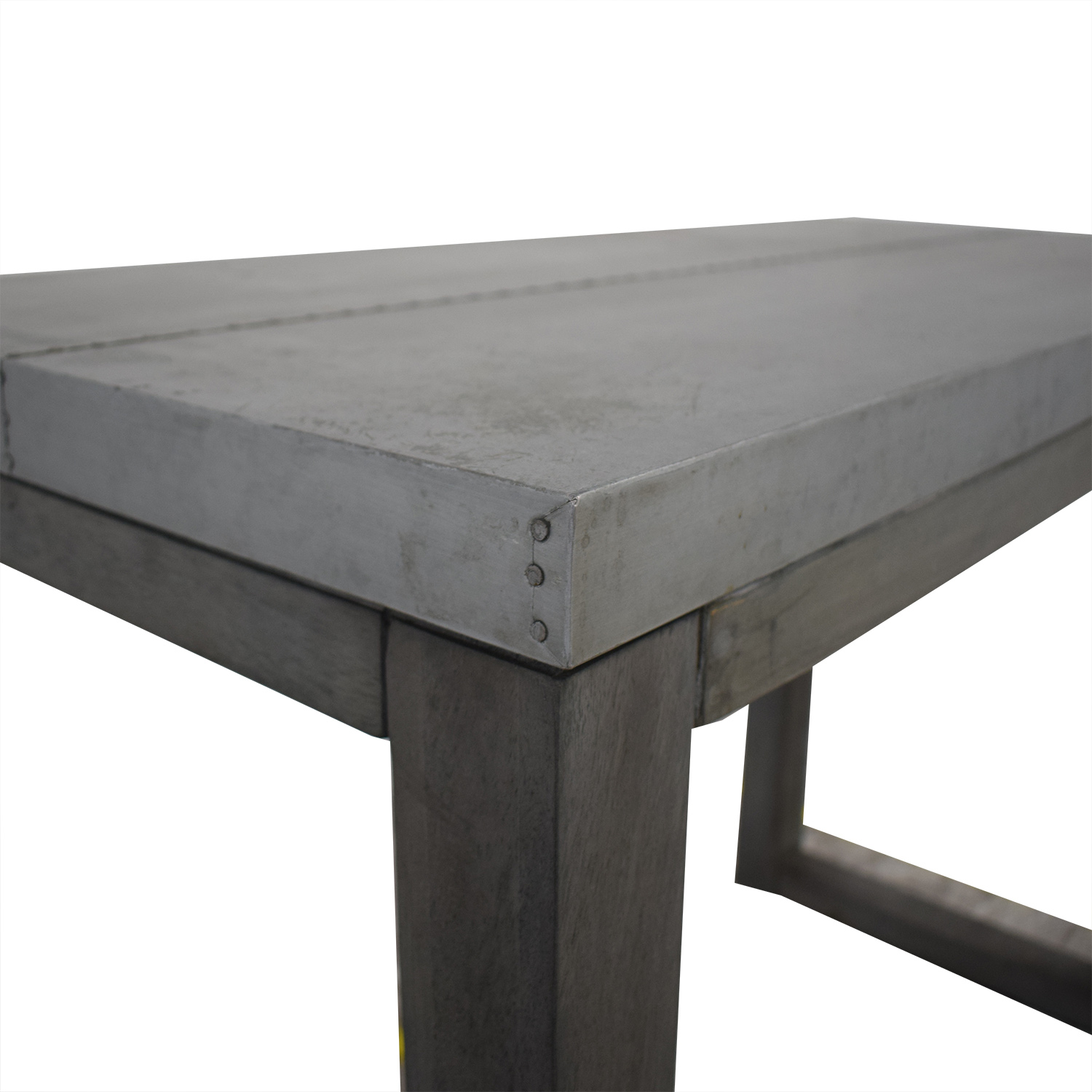 CB2 CB2 Steel Top Table second hand