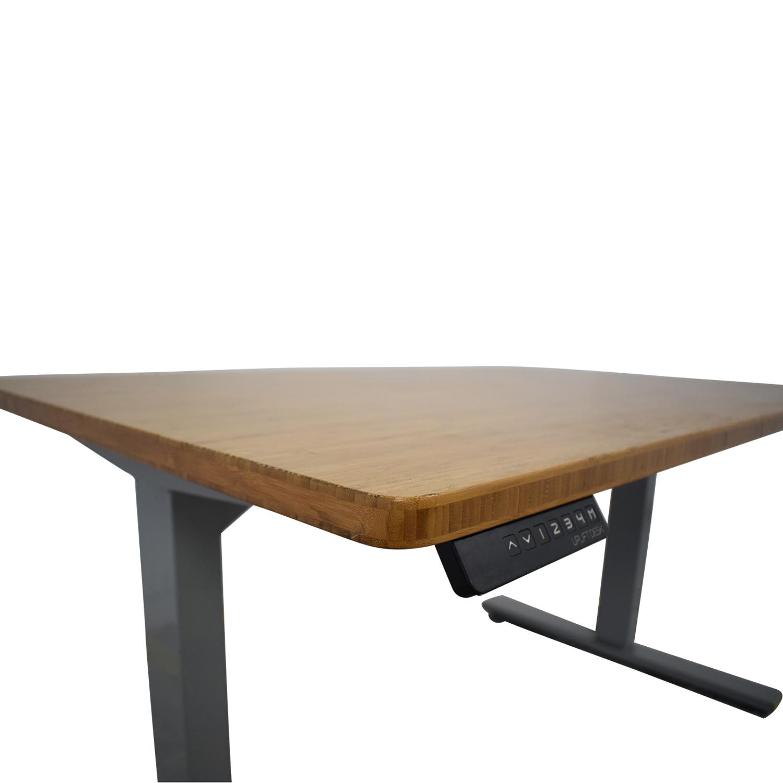 UPLIFT Uplift Standing Desk brown & grey