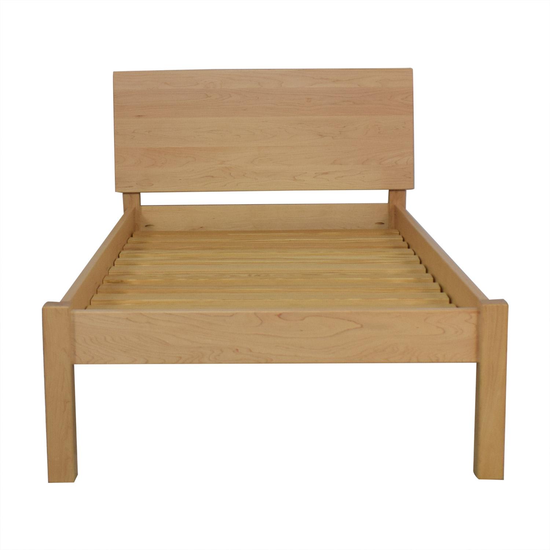 buy Room & Board Maple Pogo Twin Bed Frame Room & Board