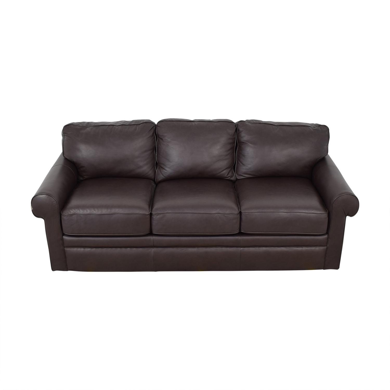79% OFF - La-Z-Boy La-Z-Boy Collins Leather Sofa / Sofas