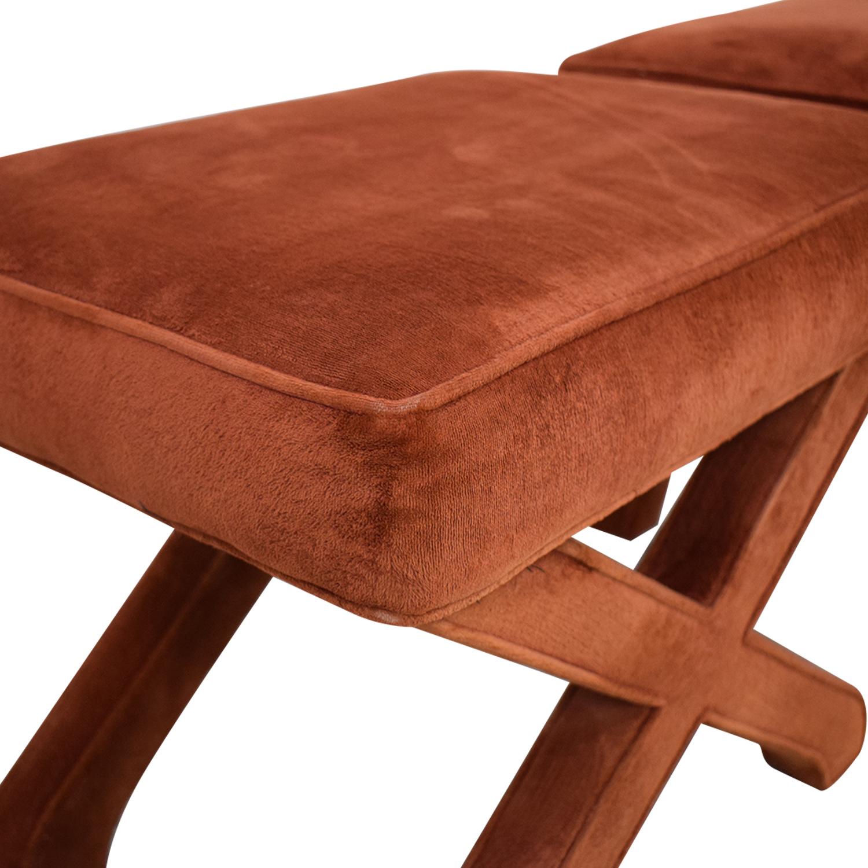 Lane Furniture Lane Furniture Upholstered Ottomans red