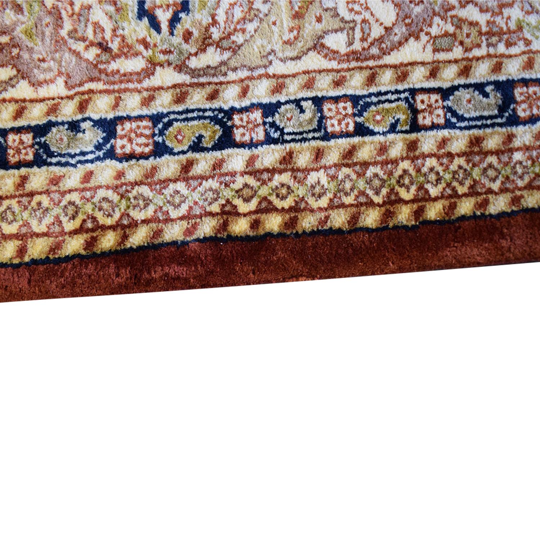Sultanabad Oriental Rug used