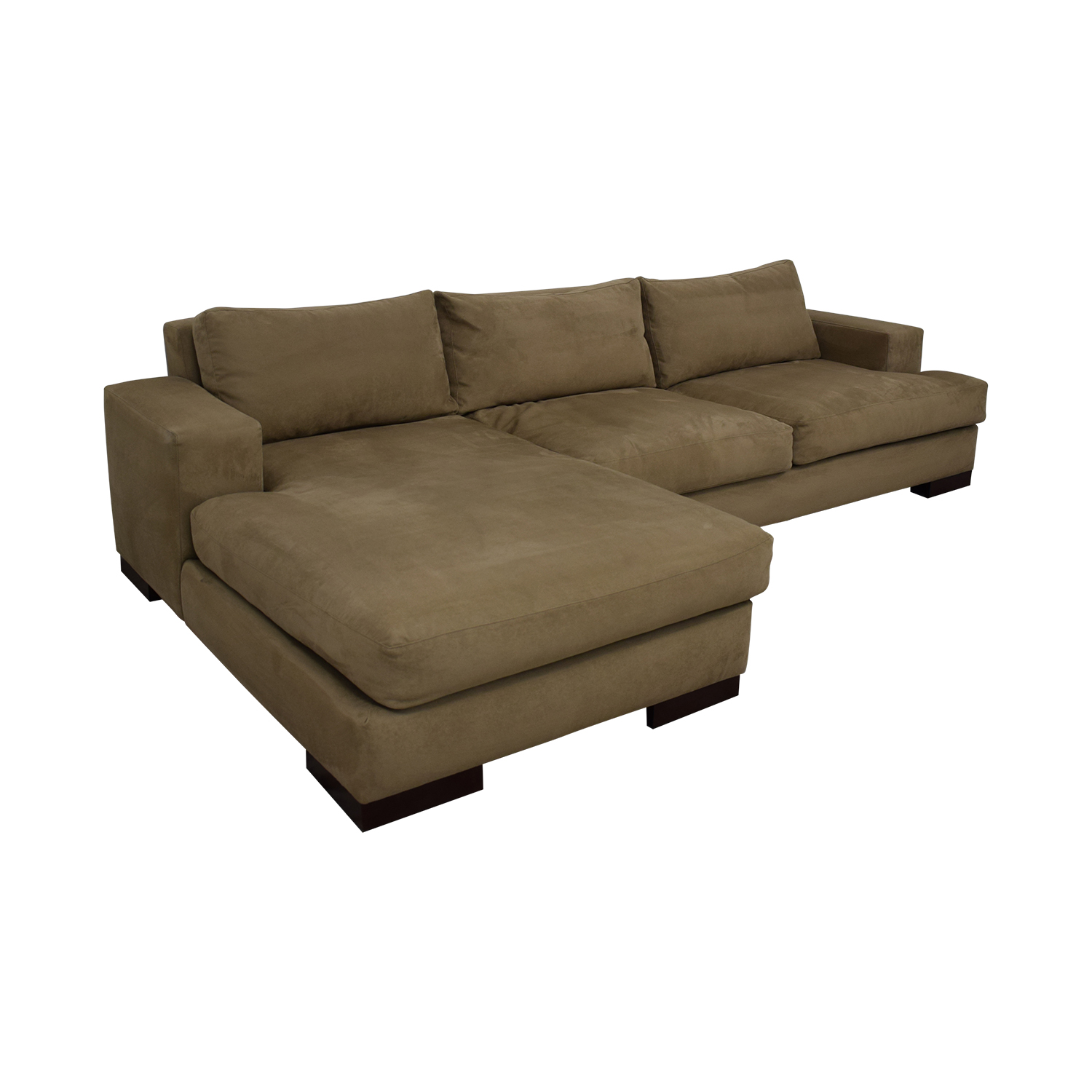 78% OFF - American Leather American Leather Chaise Sectional Sofa / Sofas