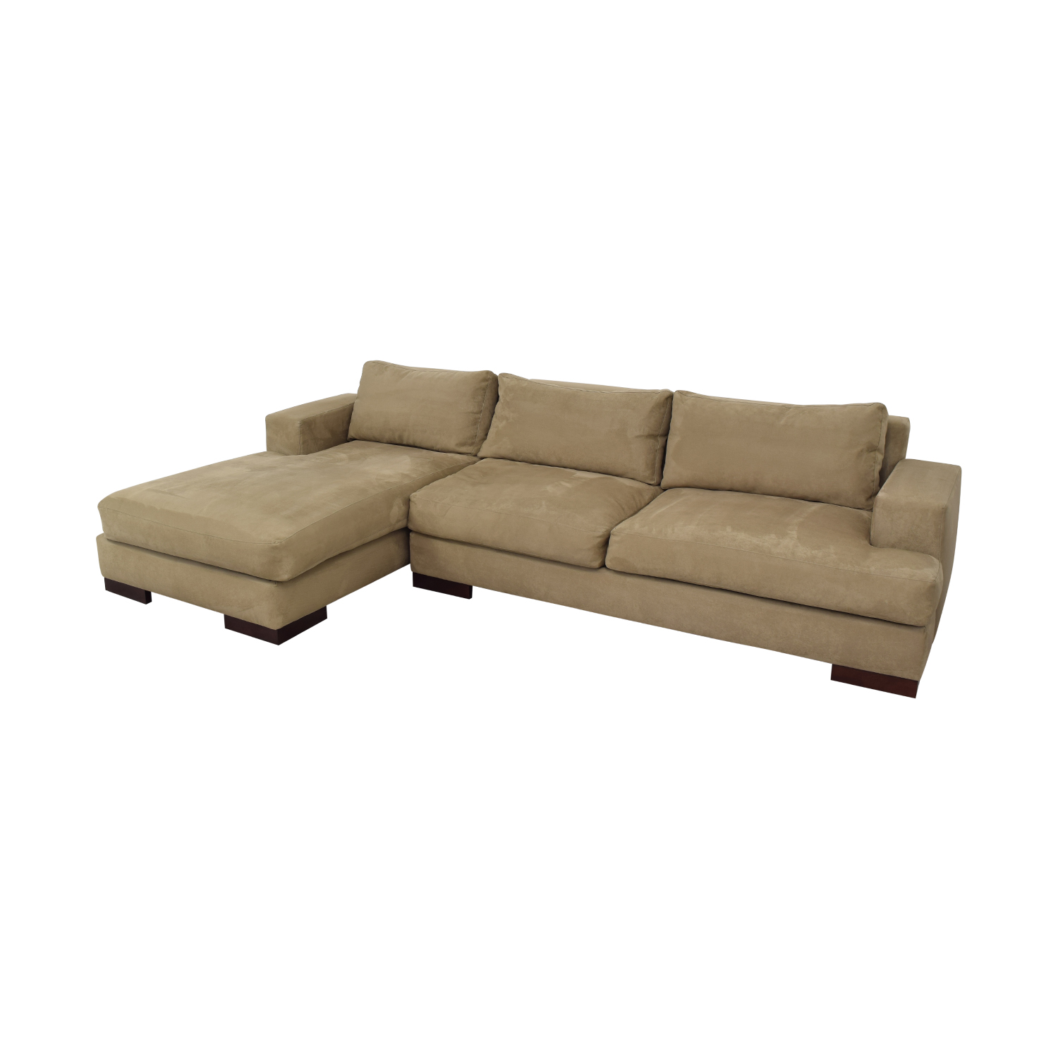 75% OFF - American Leather American Leather Chaise Sectional Sofa / Sofas