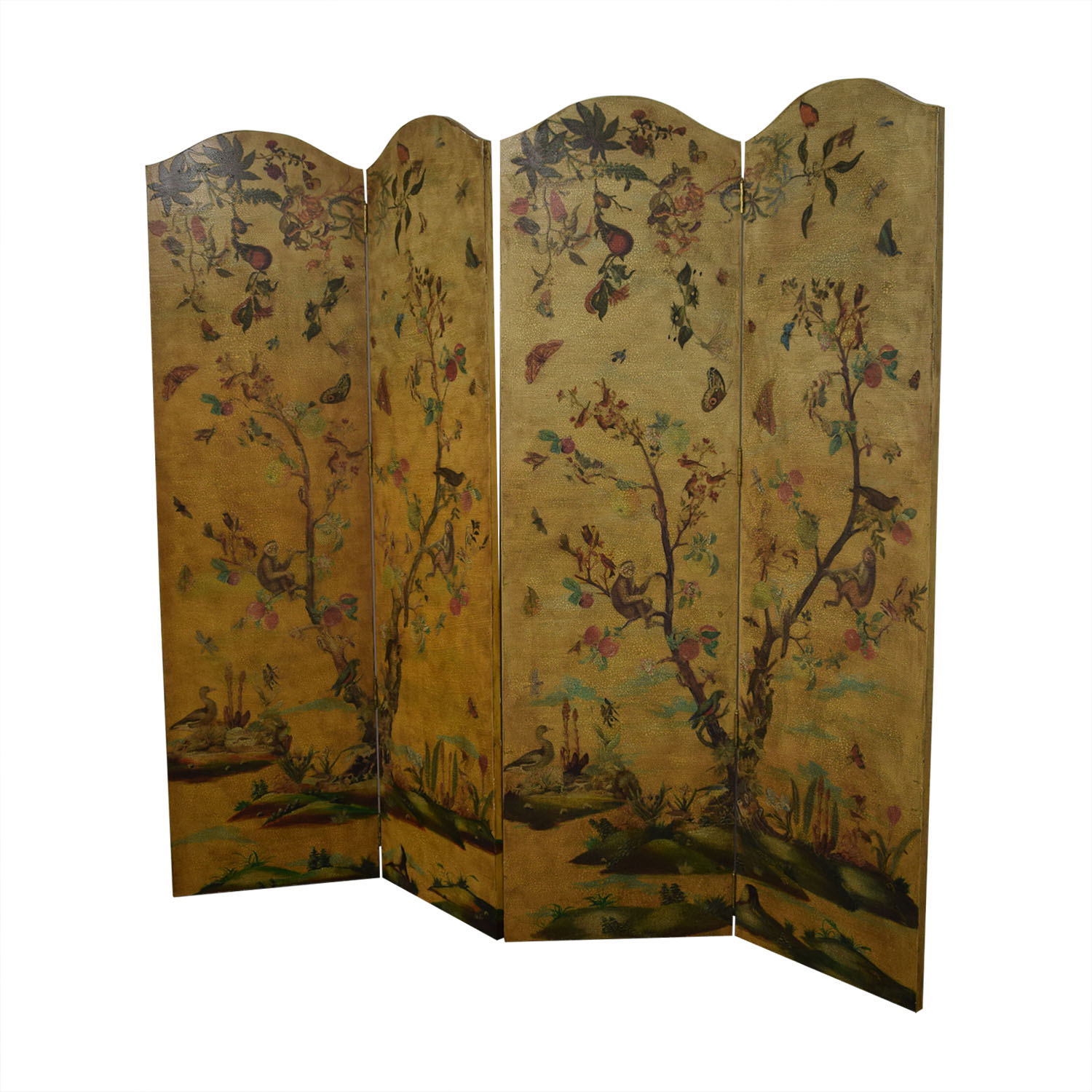 shop Lillian August Hand Painted Bi-Fold Screens Lillian August
