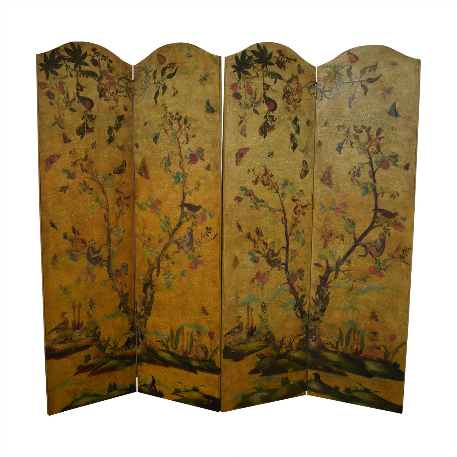 buy Lillian August Hand Painted Bi-Fold Screens Lillian August Dividers