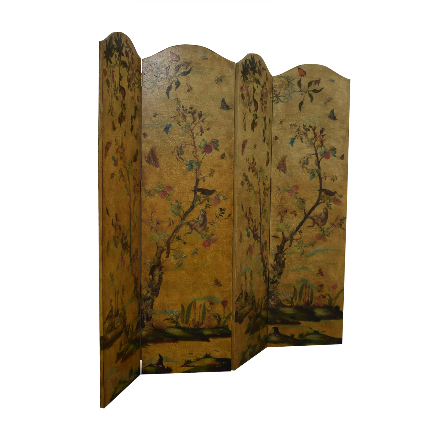 Lillian August Lillian August Hand Painted Bi-Fold Screens on sale