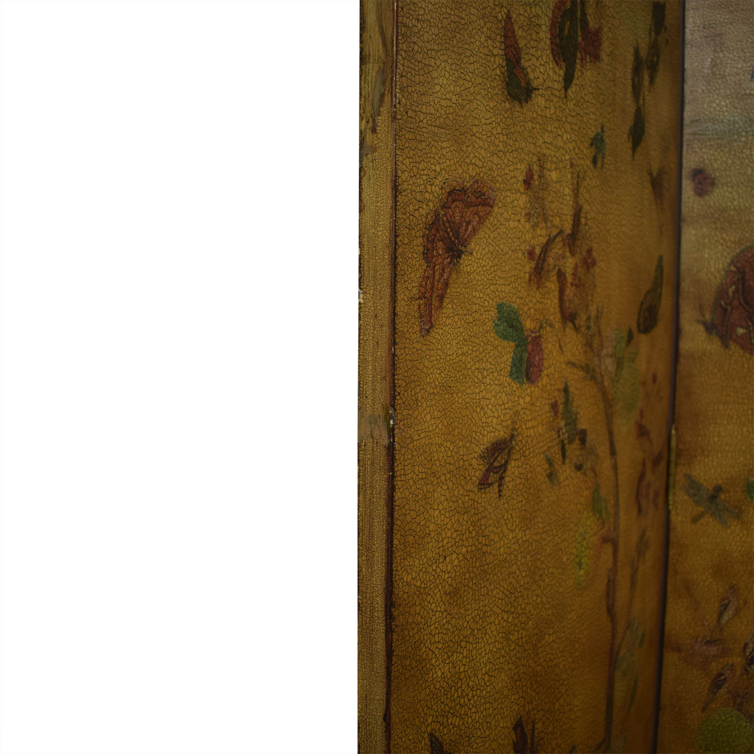 Lillian August Hand Painted Bi-Fold Screens / Dividers