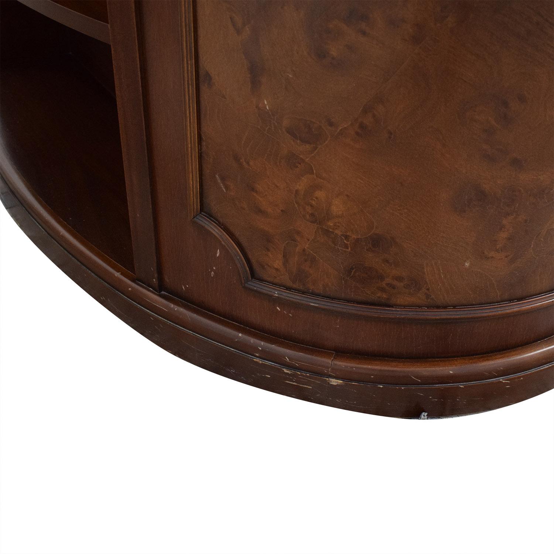 Antique Leather Top Desk coupon