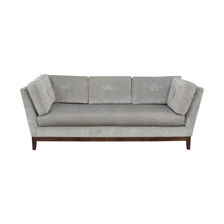 78% OFF - Pindler Custom Antique Velvet Sofa / Sofas