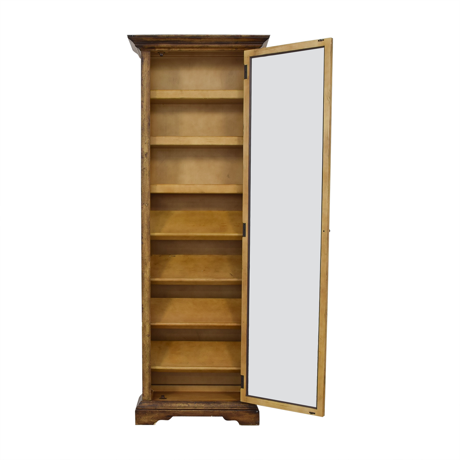 Shoe Closet with Mirror on sale