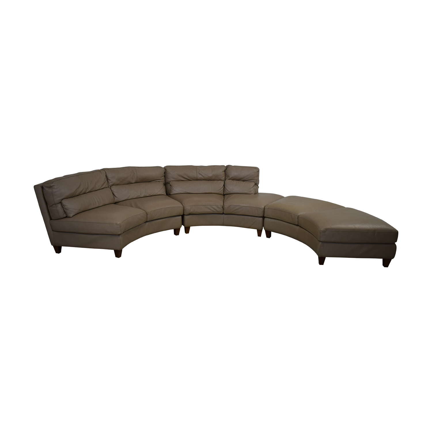 Chateau d'Ax Curved Sectional Sofa Chateau d'Ax